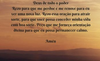 Oração para Atrair Sorte